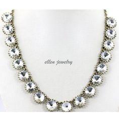 Crystal JewelryStatement Necklace  Bubble Jewelry by EllenJewelry, $14.40