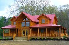 Lincoln log homes