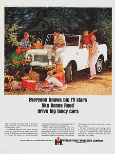 1965 International Scout Ad with Donna Reed, via Flickr.