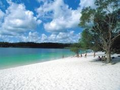 Here's my Qld Wishlist- Queensland Bucket List #5- swimming in Lake McKenzie: Perched & Perfect!
