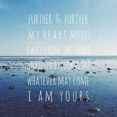 "Bethel music new album we will not be shaken lyrics ""further and further my heart moves away from the shore whatever it looks like whatever may come I am yours"" in over my head"