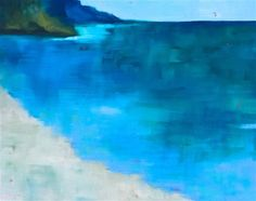 "Daily+Paintworks+-+""The+Cove""+-+Original+Fine+Art+for+Sale+-+©+Janet+Bludau"