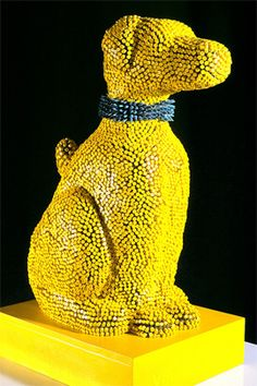 Crayon Sculpture Artist – Herb Williams | The Design Inspiration....obsessed!!!!