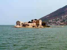 Fortress Grmožur in Skadar Lake, Montenegro http://en.wikipedia.org/wiki/Lake_Skadar
