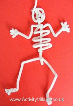Great way to explore body systems. Could use pipe cleaners to create skeletal system, circulatory system, etc.