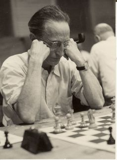 Marcel Duchamp - Chess Master by the French Chess Federation.