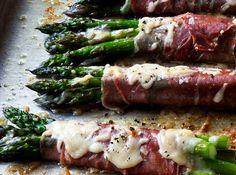 asparagus prosciutto bundles SS