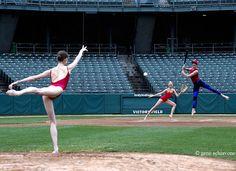 Ballet Baseball  geneschiavone.com