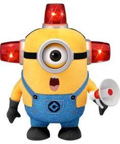 Despicable Me Bee-Do Fireman Minion.