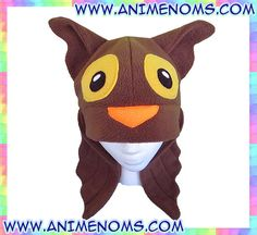 Brown Owl Hat : Anti-pill fleece, cute wings for Kids, Teens and Adults by AnimeNoms, $24.99