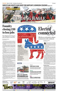 Today's front page, March 7, 2013.
