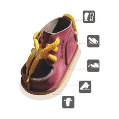 Unique self-reinforcing back Easier walking and getting up Elastic sole Toes protection while crawling Wide forefoot