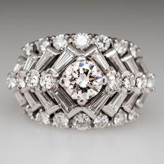 Retro Diamond Ring                                                       …
