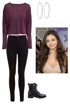 """Ashley Juergens - The Secret Life Of The American Teenager"" by aubrey-goodwin ❤ liked on Polyvore featuring Miss Selfridge, H&M and Roberta Chiarella"
