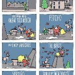 dalla  pagina fb di @SupergaCinema una deliziosa vignetta natalizia che piacerà @vittorianicolo (via @avadesordre)