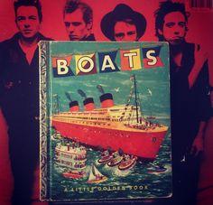 Boats: A Little Golden Book
