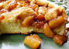 Souffle Pancake with Caramelized Apples - Bunnys Warm Oven