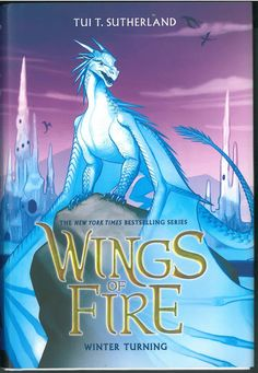 Wings of Fire Book Seven: Winter Turning by Tui T. Sutherland. The New York Times and USA Today bestselling series soars to even greater heights with a new prophecy and five new dragonets ready to claim their destiny! Daring mission... or deadly mistake? Winter has been a disappointment to his royal IceWing family his whole life. When his sister, Icicle, runs away from Jade Mountain Academy, fleeing terrible crimes and possibly planning to commit more, Winter knows that they both need a...