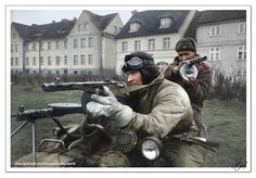 Russian patrol on their Dnepr motorcycle, Germany Military Photos, Military History, World History, World War Ii, Germany Ww2, Soviet Army, Ww2 Photos, Total War, Red Army