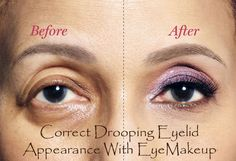 Careful makeup application can help you in covering the appearance of sagging eyelids, so it's very important to be realistic in what makeup you should opt and what not. Here are some best applicable tips on how to do your eye makeup to look your best and appear more youthful but not overdone.