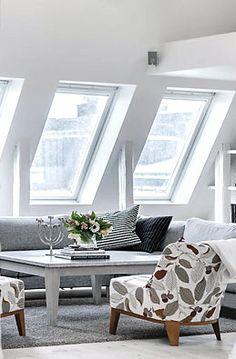 Via Freshome | IKEA | Scandinavian | Grey and White