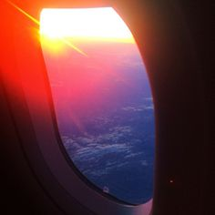 Yesterday's sunset on the plane✈️