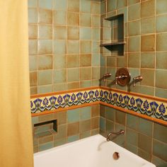 Mexican Bath Design Ideas, Pictures, Remodel and Decor