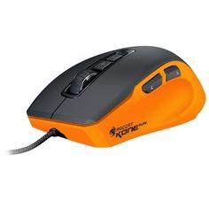 Souris PC ROCCAT Kone Pure Color Inferno Orange Souris laser pour gamer