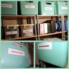 Happy Organized Home: AAN DE SLAG...IN JE OPBERGHOK