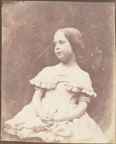 The Photographer's Daughter, Salted paper print from a paper negative. Dress from the Vintage Photographs, Vintage Photos, Henry Fox Talbot, Fine Art Prints, Canvas Prints, Time Pictures, Daguerreotype, Heritage Image, Poster Size Prints