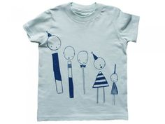 Line-Up T-Shirt by Corby Tindersticks
