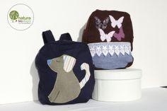Zainetto bimbo: Cucciolo & Farfalle