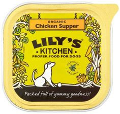 Lily's Kitchen Organic Chicken and Spelt Supper for Dogs 150 (Pack of 11) by Lily's Kitchen, http://www.amazon.co.uk/dp/B005VBOUV8/ref=cm_sw_r_pi_dp_lKCXsb10CRA6R