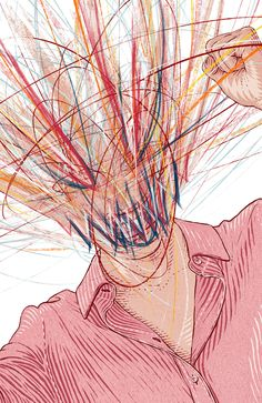 Anger Management for Wysokie Obcasy Extra on Behance