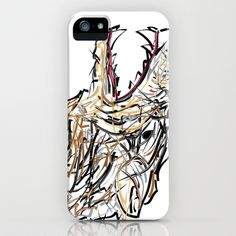 Dire Wolf iPhone & iPod Case by riomarcos - $35.00