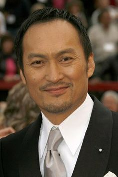 Ken Watanabe best looking oriental man I've seen.
