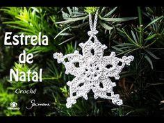 Estrela de Natal em Crochê | passo a passo | Professora Simone