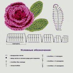 Crochet Rose...