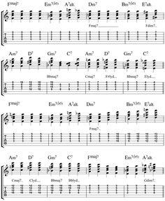 Georgia Jazz Guitar Chords