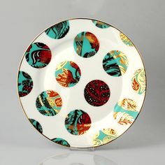 These Perry plates from Watts London are spectacular.