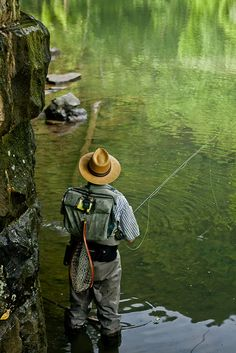 """Wray Sinclair: """"After coming to the realization that I couldn't make fly fishing as beautiful as it should be I took the first opportunity that came to move Fishing Photography, Fishing Pictures, Fish Camp, Gone Fishing, Freshwater Fish, Nature Pictures, Hunting, Camping, Cowboy Art"""