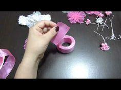 ▶ Manualidades y accesorios la hormiga. como hacer una flor en citas. video No.034 - YouTube
