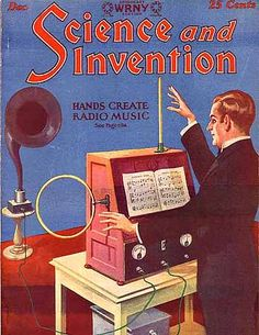 Theremin.info :: Hands Create Radio Music (1927) - from the Theremin.info Archives
