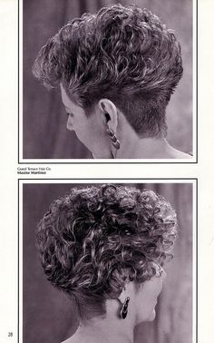 super curly wedge style! in 2019 | Curly Hair Haircuts ...
