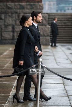 Princess Sofia and Prince Carl Phillip attend the city of Stockholm's official ceremony for the victims of the recent terrorist attack on April 10, 2017 in Stockholm, Sweden. Four people died and fifteen were injured after a hijacked truck crashed into the front of Ahlens department store in Stockholm on April 7, 2017. (Photo by Michael Campanella/Getty Images)