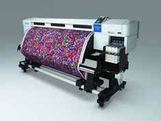 New Home Printer Creates Textiles From Your Designs