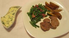 Vepř.steak+fazolky