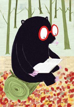 Nadia Shireen.  http://allakinda.tumblr.com/post/19393629328/americanchickens-illustrator-crush-nadia