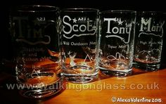 I ENGRAVE LIKE NO ONE ELSE!  4 #Bespoke #Engraved LSA International UK TANKARDS  for #friends who share the same space... The Great Outdoors!  www.walkingonglass.co.uk  www.facebook.com/walkingonglass.co.uk @Glassforwalkers  #engravedglass #walking #walk #fell #runner #mountain #climber #triathlon #geologist #outdoors #wilderness #hiker #rambler
