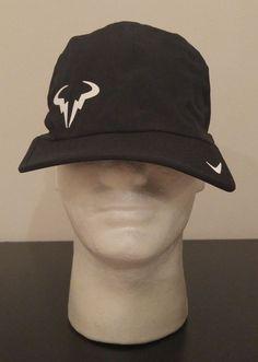 timeless design a334b 7ce1e NEW Nike Dri-Fit Premier Rafa Nadal Bull Logo 2.0 Adjustable Tennis Hat  613966 Bull